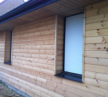 Fabrication et pose de bardage en bois à Tourcoing