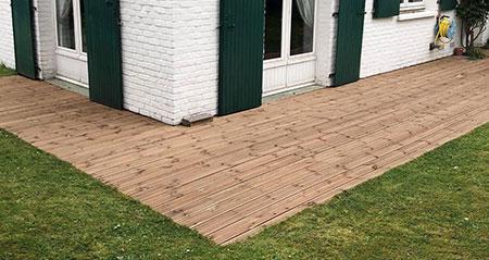 Rénovation de terrasse à Tourcoing